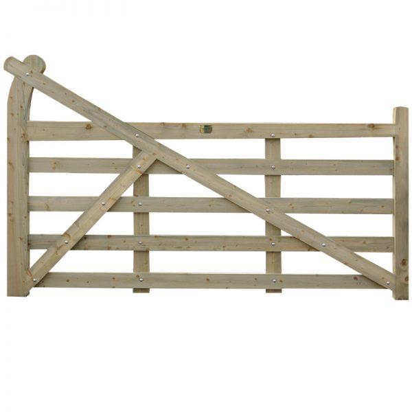 Gooseneck-Gate